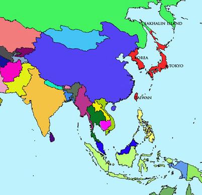 Japan Module | Map | Meiji Period (1868 – 1912)
