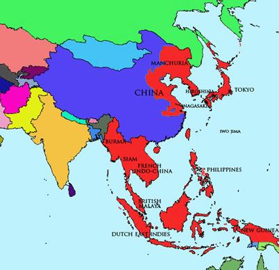 Japan Module | Map | Shōwa Period (1926 – 1989)
